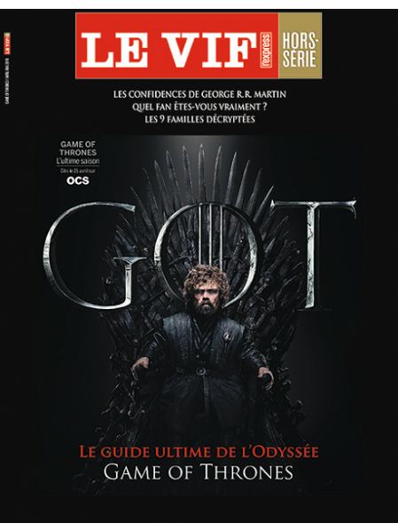 Le Vif Hors-Série Game of Thrones